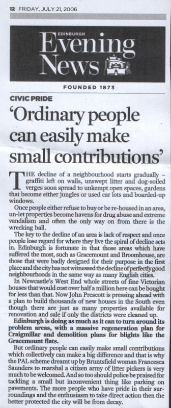 'Ordinary people can easily make small contributions'